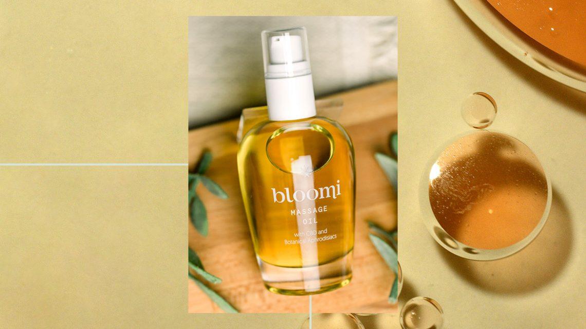 Examen de l'huile de massage Bloomi: j'ai essayé une huile botanique CBD