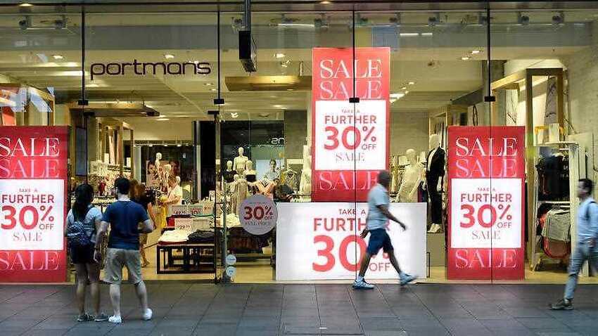 L'Australie a annoncé des ventes record le lendemain de Noël, bien que les acheteurs de Sydney évitent largement les magasins CBD