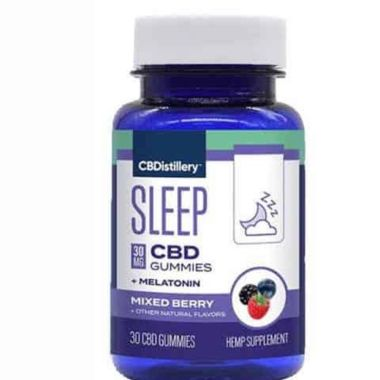 cbdistillerie, meilleurs gummies CBD pour dormir