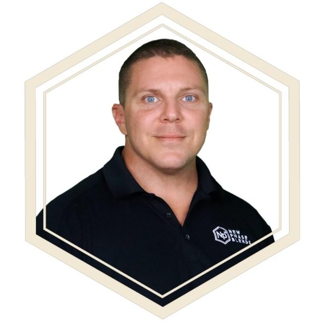 Dale Hewett, PDG et fondateur de New Phase Blends