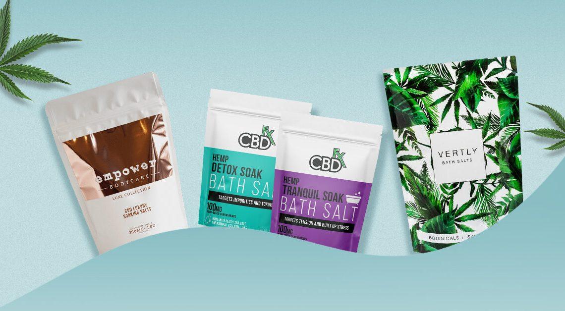 4 meilleurs sels de bain CBD pour 2021
