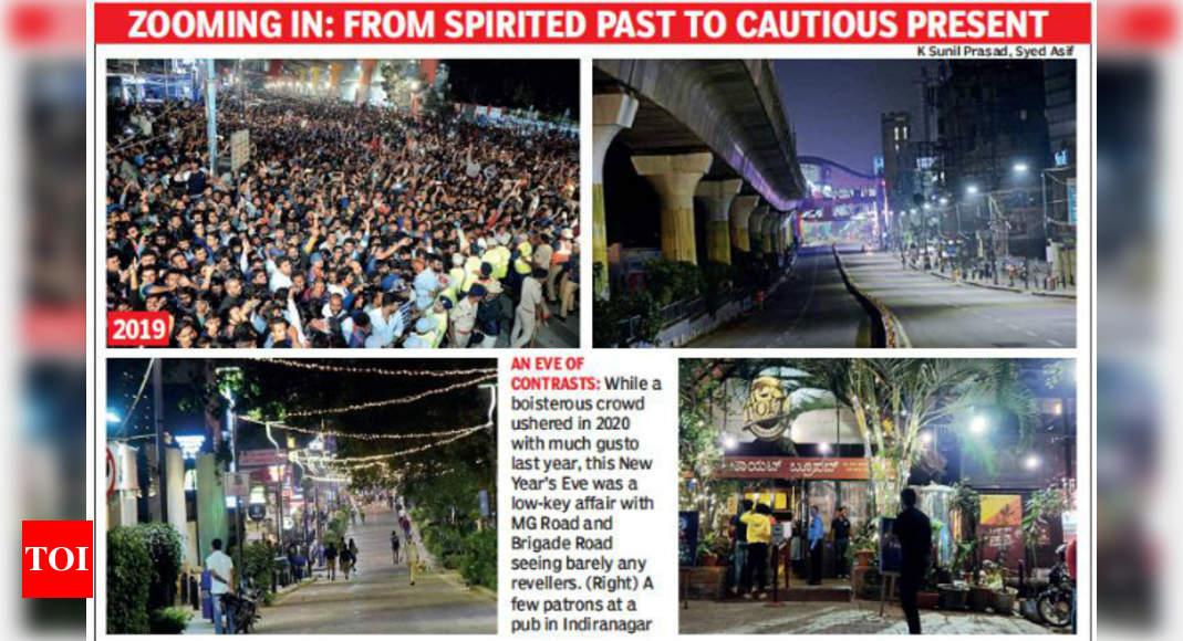 Bengaluru: CBD voit NYE tranquille pour la première fois depuis des décennies |  Nouvelles de Bengaluru