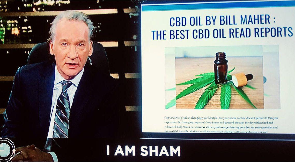 Bill Maher a coché la CBD Oil Company pour avoir utilisé son nom