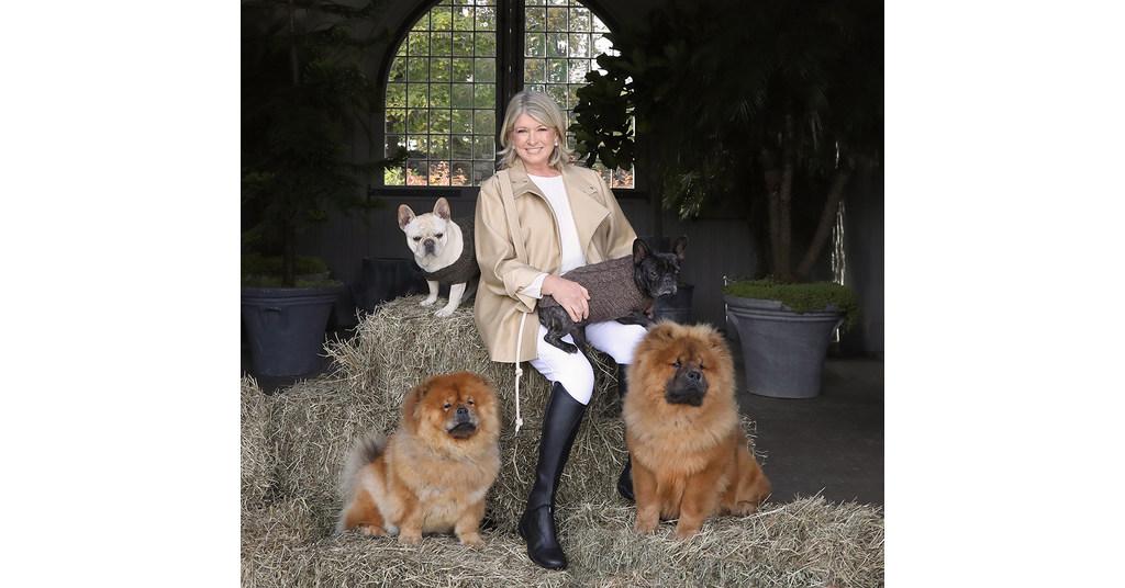 Canopy Animal Health, Martha Stewart et Marquee Brands lancent une nouvelle gamme de produits CBD pour animaux de compagnie