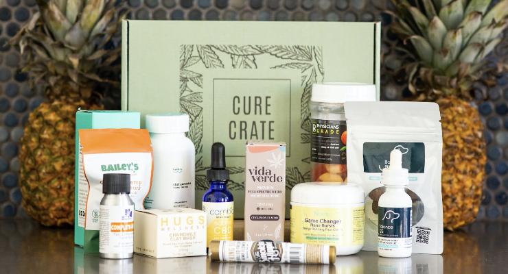 Cure Crate fournit du CBD – HAPPI