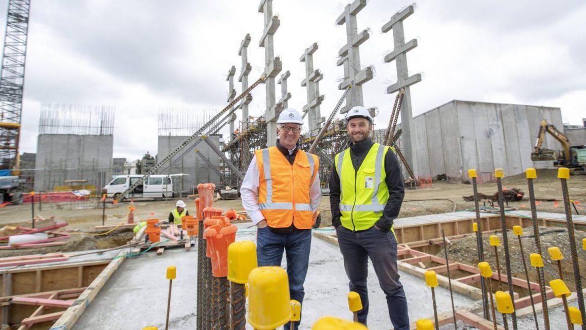 Les travaux de construction augmentent pour la reconstruction d'Invercargill CBD