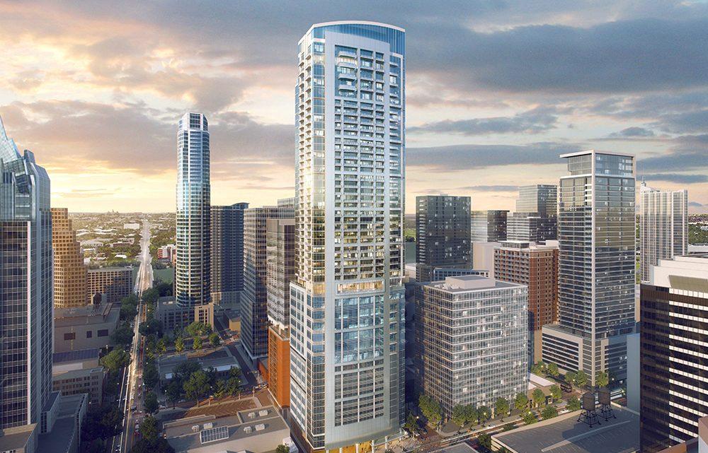 Stonelake va développer une tour à usage mixte de 50 étages à Austin CBD