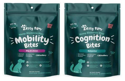 Zesty Paws® élargit sa gamme de produits avec de nouveaux suppléments fonctionnels au CBD