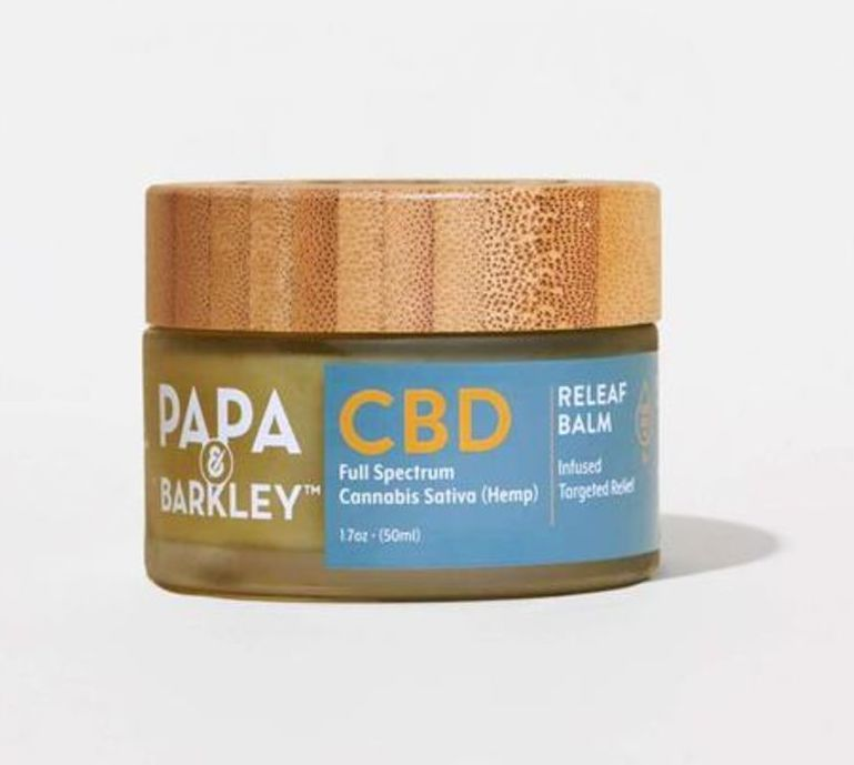 papa and barkley, meilleure crème CBD pour la douleur