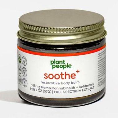 personnes végétales, meilleure crème CBD pour la douleur