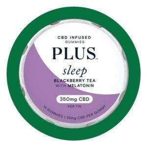 Plus Gummies infusés au CBD pour le sommeil