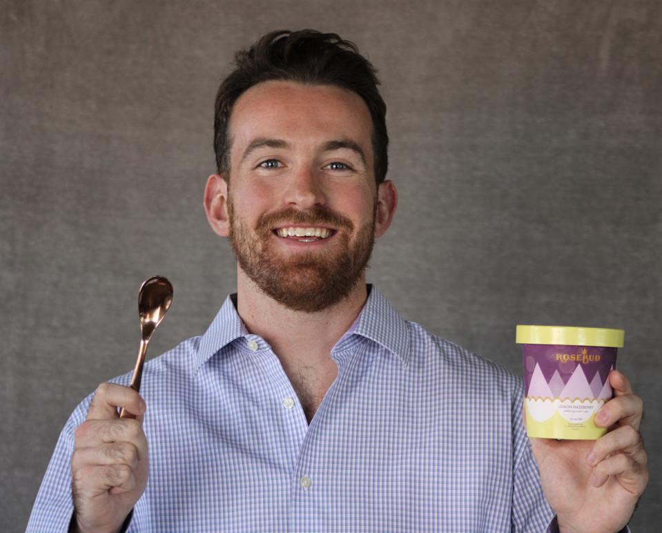Sam Rose, fondateur de RoseBud Ice Cream