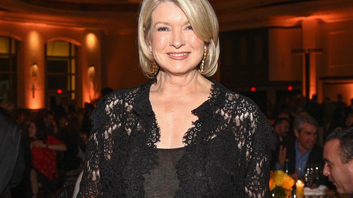 Dans la routine de bien-être de Martha Stewart