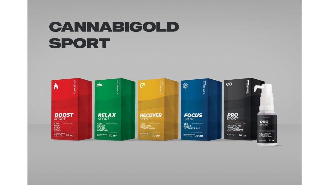 HemPoland lance CannabiGold Sport, une gamme de suppléments de CBD dérivés du chanvre avant et après l'entraînement conçus pour les amateurs de sport
