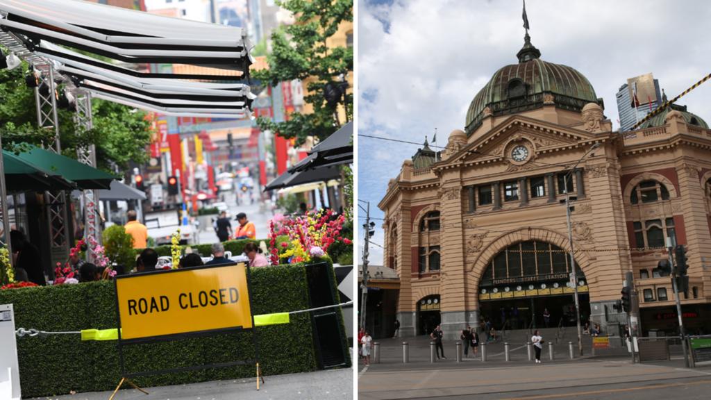 Hollywood à la maison: les rues du CBD de Melbourne, y compris Russell et Cardigan, ainsi que les sentiers fermés pendant DEUX JOURS en raison du « tournage »