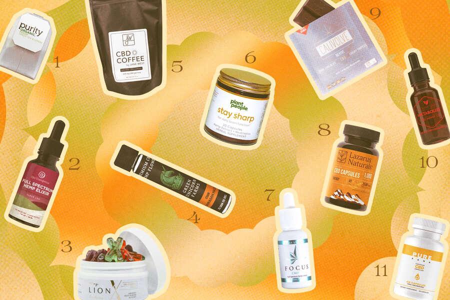 Meilleurs produits CBD pour la concentration et l'énergie: le CBD peut-il vous aider à vous concentrer?