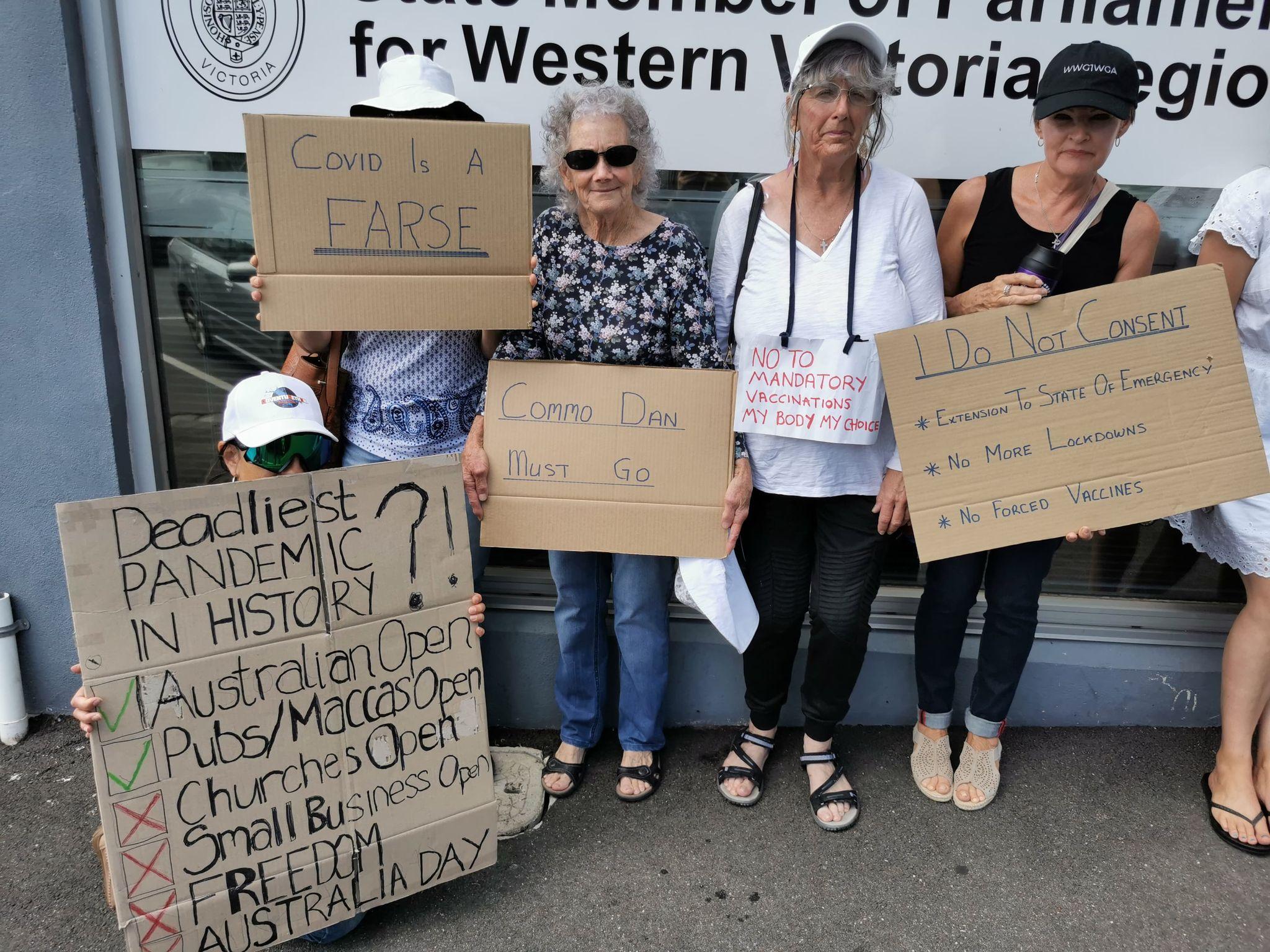 Protestation 3