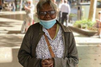 Lynette Agnew s'est rendue dans la ville depuis Northcote jeudi matin pour jeter un coup d'œil aux alentours.