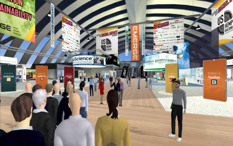 Qu'est-ce qu'une conférence virtuelle?  À l'intérieur du premier jour de Spring Emerge 2021