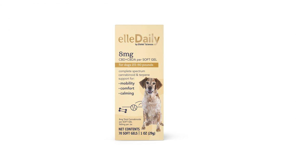 ElleVet Sciences annonce une nouvelle gamme de produits CBD pour animaux de compagnie «ellePet» pour les magasins de détail