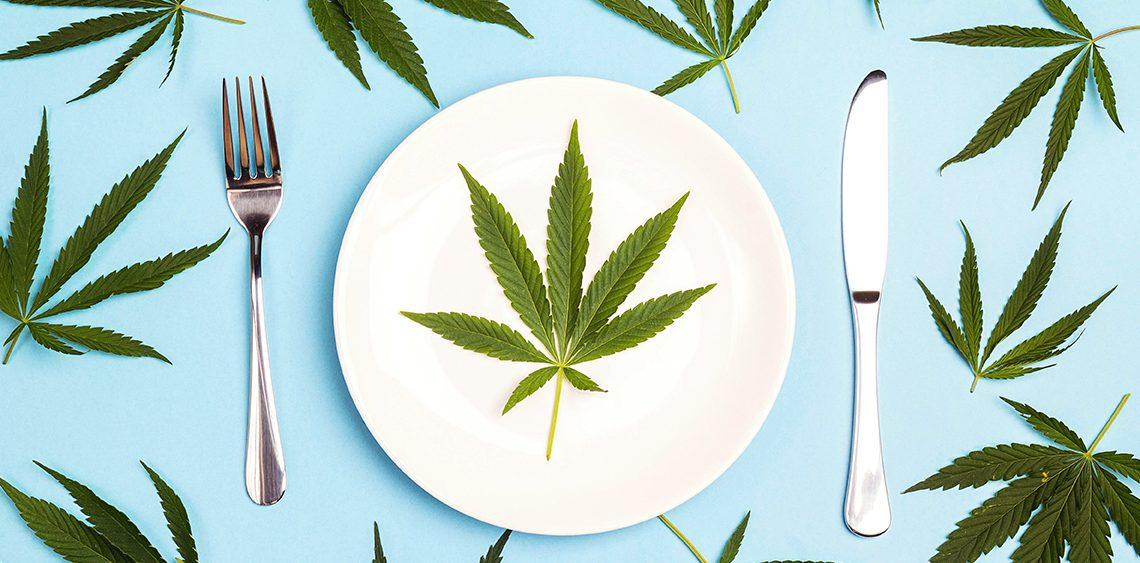 Gérer l'appétit avec du THC ou du CBD