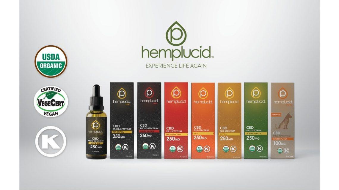 Hemplucid CBD obtient la certification biologique de l'USDA et lance de nouvelles gammes de produits