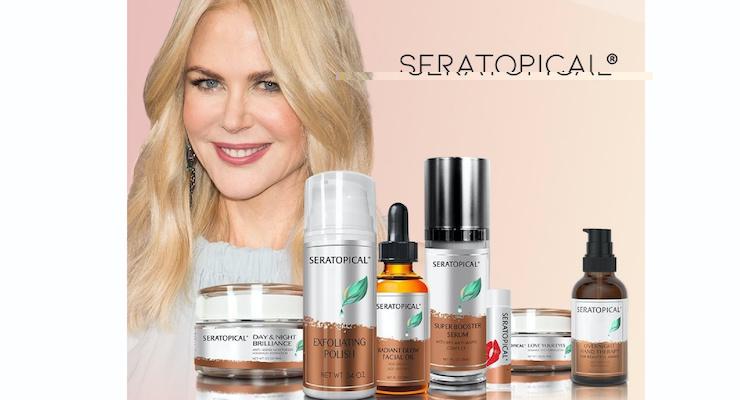 Nicole Kidman s'associe à Seralabs sur la gamme de soins de la peau au CBD