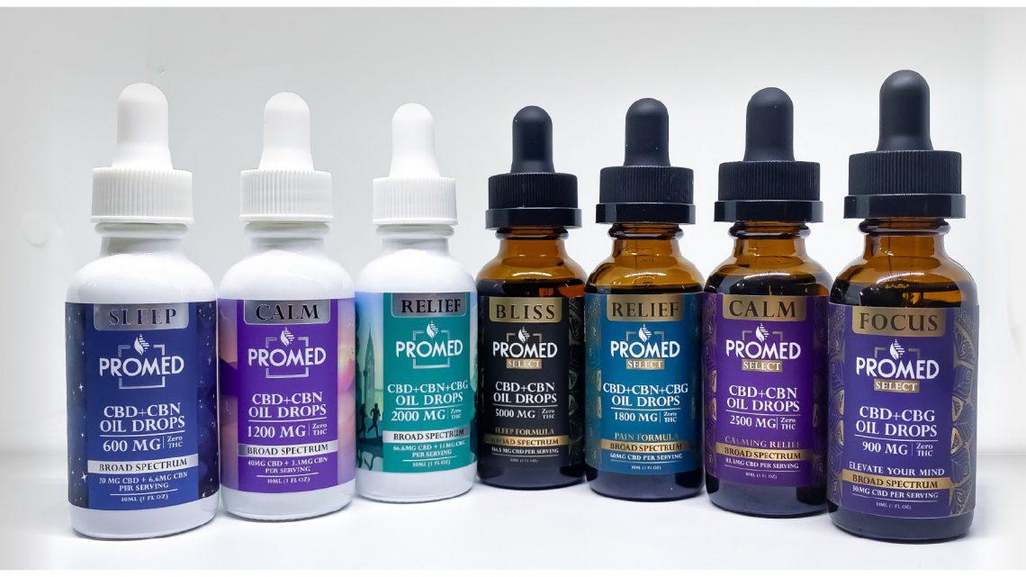 ProMED Biosciences lance de nouvelles gouttes d'huile de CBD conditionnelles