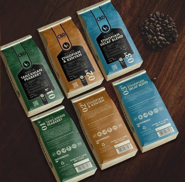 Wuhan lance le café torréfié à grains entiers infusé au CBD Medspresso