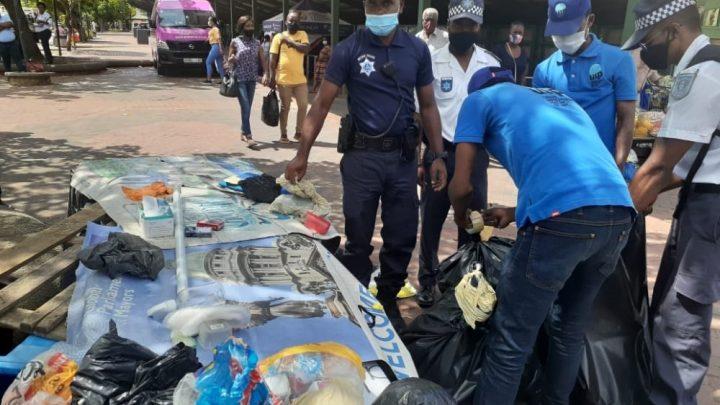 Seize arrêtés lors de raids dans le CBD de Durban