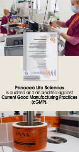 Panacea obtient la certification cGMP