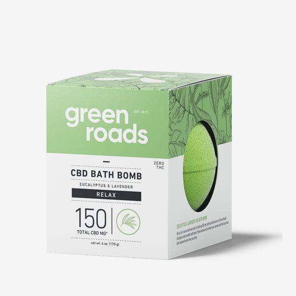 Grande bombe de bain au CBD Green Roads, 150 mg