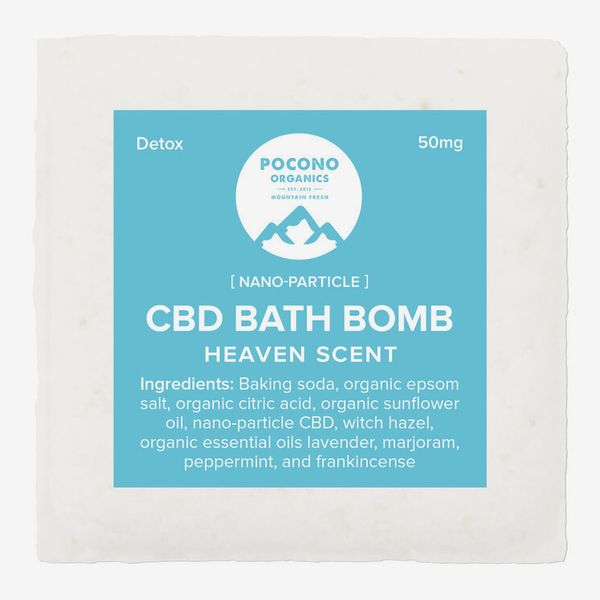 Bombe de bain Pocono Organics, 50 mg