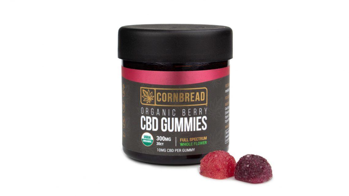Cornbread Hemp lance les premiers bonbons gélifiés au CBD certifiés à spectre complet
