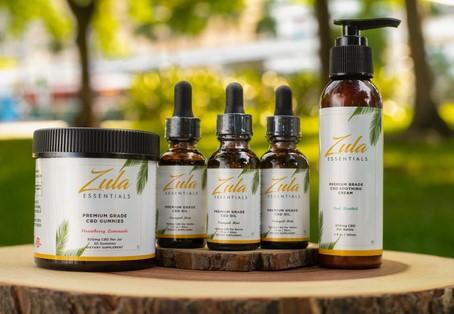 La marque CBD appartenant à des Noirs et dirigée par des femmes, Zula Essentials, présente des produits conçus par des femmes