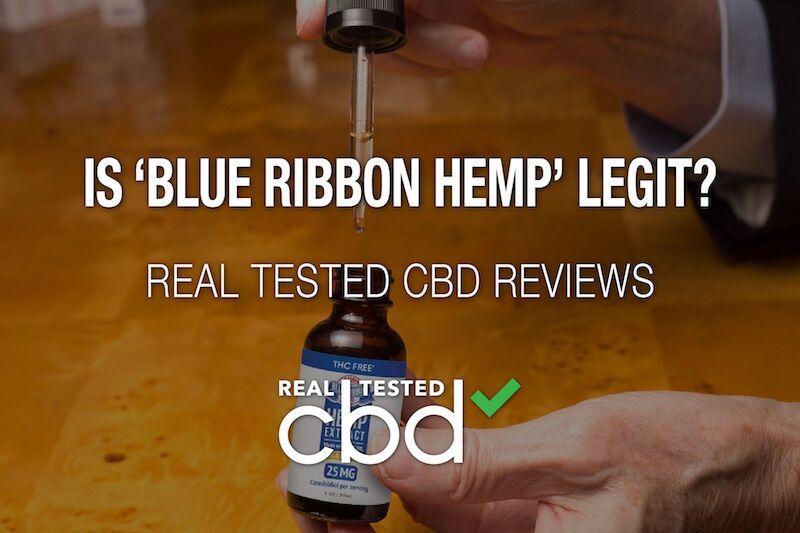 Le CBD de Blue Ribbon Hemp est-il légitime?  Un véritable coup de projecteur sur la marque CBD testée    Contenu partenaire