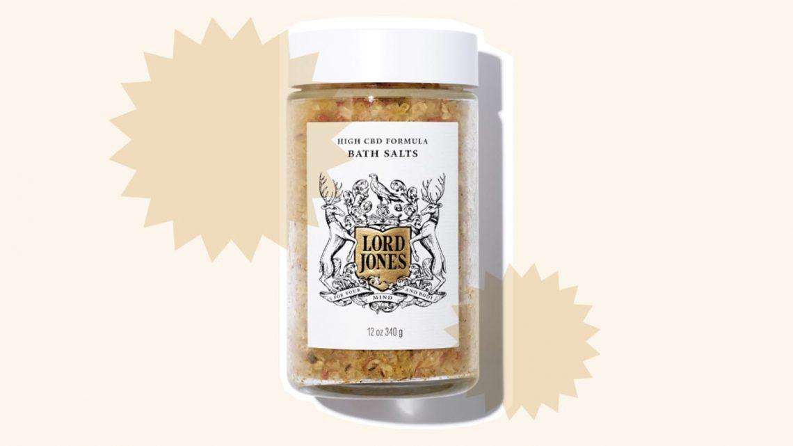 Les sels de bain CBD de Lord Jones sont les plus relaxants que j'ai essayés