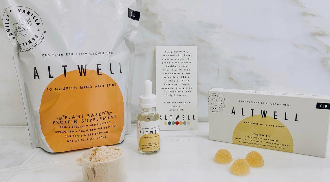 Produits Altwell CBD: fabriqués à partir de chanvre cultivé de manière éthique