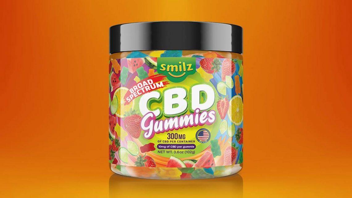 Smilz CBD Gummies Review: Légumes comestibles au chanvre à large spectre?