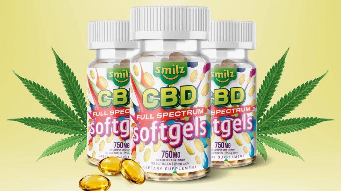 Smilz CBD Softgels Review – Legit Smilz Full Spectrum Pills?