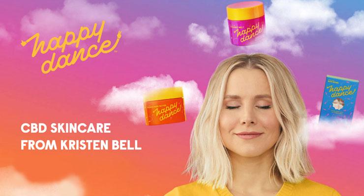 Soyez heureux avec les nouveaux produits de beauté CBD de Kristen Bell