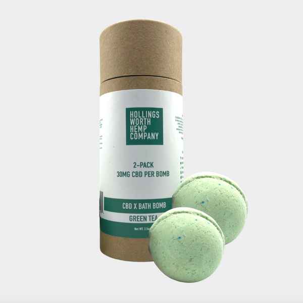 Bombes de bain Hollingsworth Hemp CBD, 30 mg