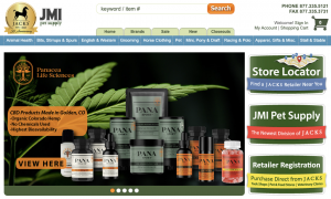 Produits Panacea CBD offerts chez JACKS / JMI Pet Supply