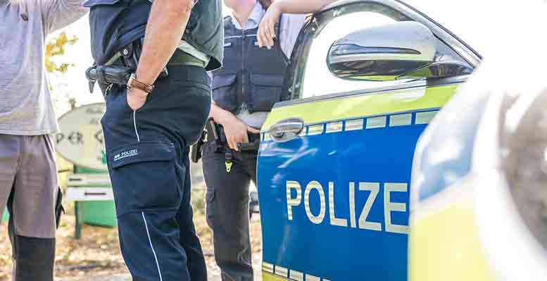 La politique désemparée des flics sur la CDB est réprimandée par l'association allemande