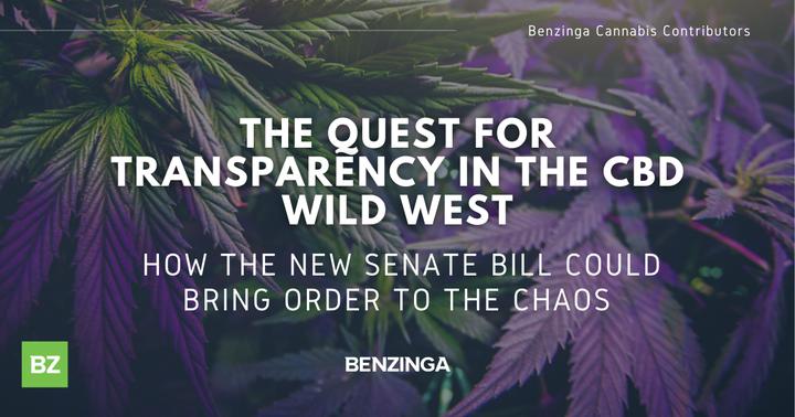 La quête de transparence dans le Far West CBD Comment le nouveau projet de loi du Sénat pourrait mettre de l'ordre dans le chaos