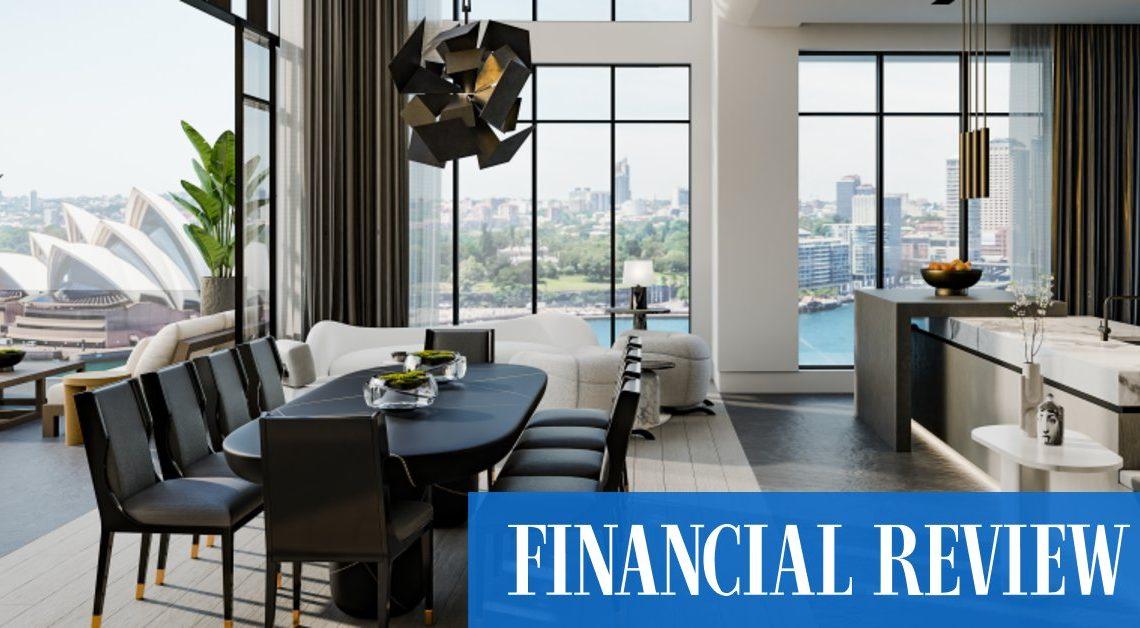 Les acheteurs haussiers poussent le marché immobilier de luxe CBD de Sydney à de nouveaux records
