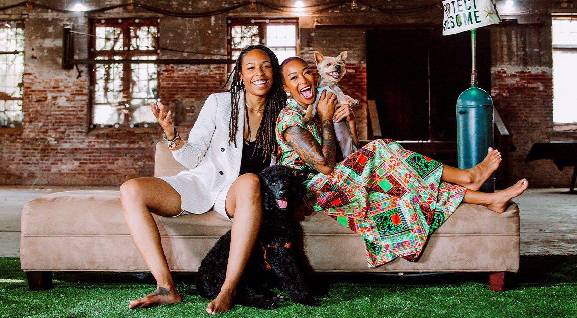Les beaux penseurs derrière la marque de CBD noire Unoia appartenant à des LGBTQ