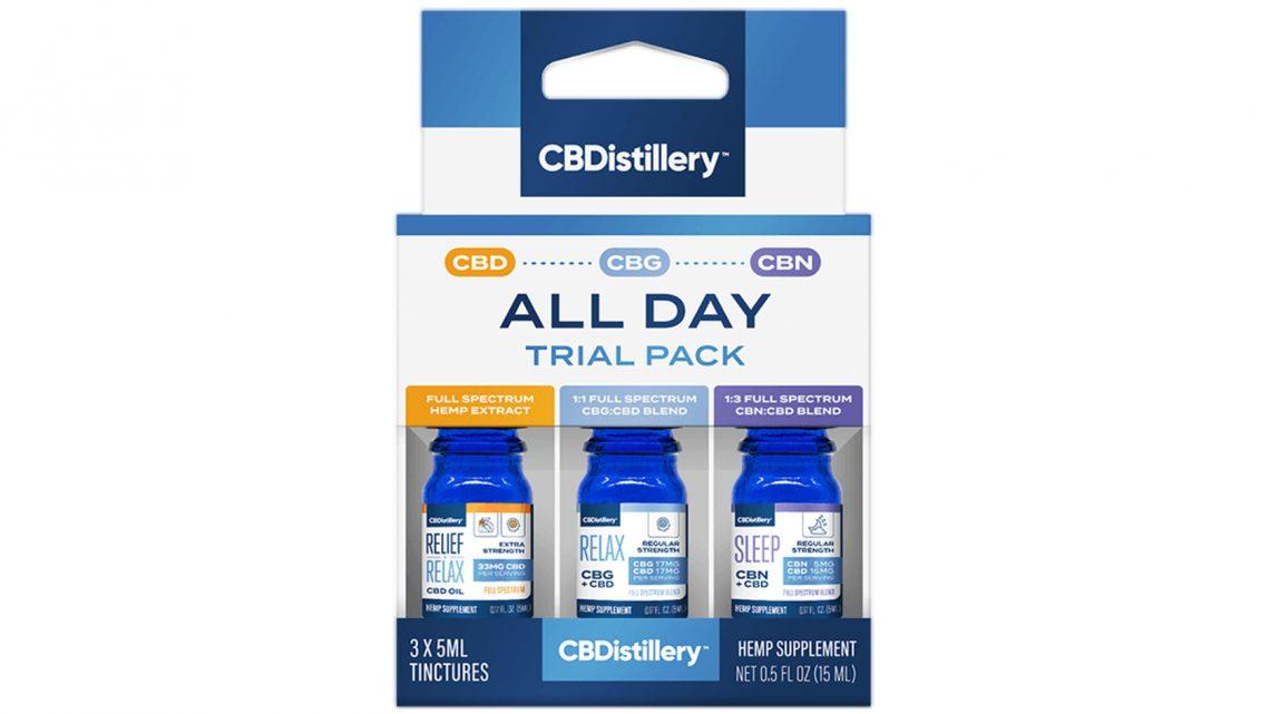 Les packs d'essai permettent l'échantillonnage de CBD