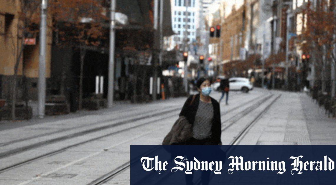 Les règles sur les masques d'intérieur placent le Sydney CBD en «mini-verrouillage» alors que les travailleurs évitent les bureaux