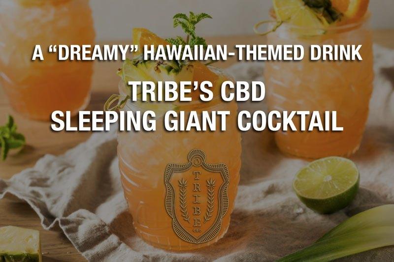 Une boisson «de rêve» sur le thème hawaïen–Tribe's CBD Sleeping Giant Cocktail